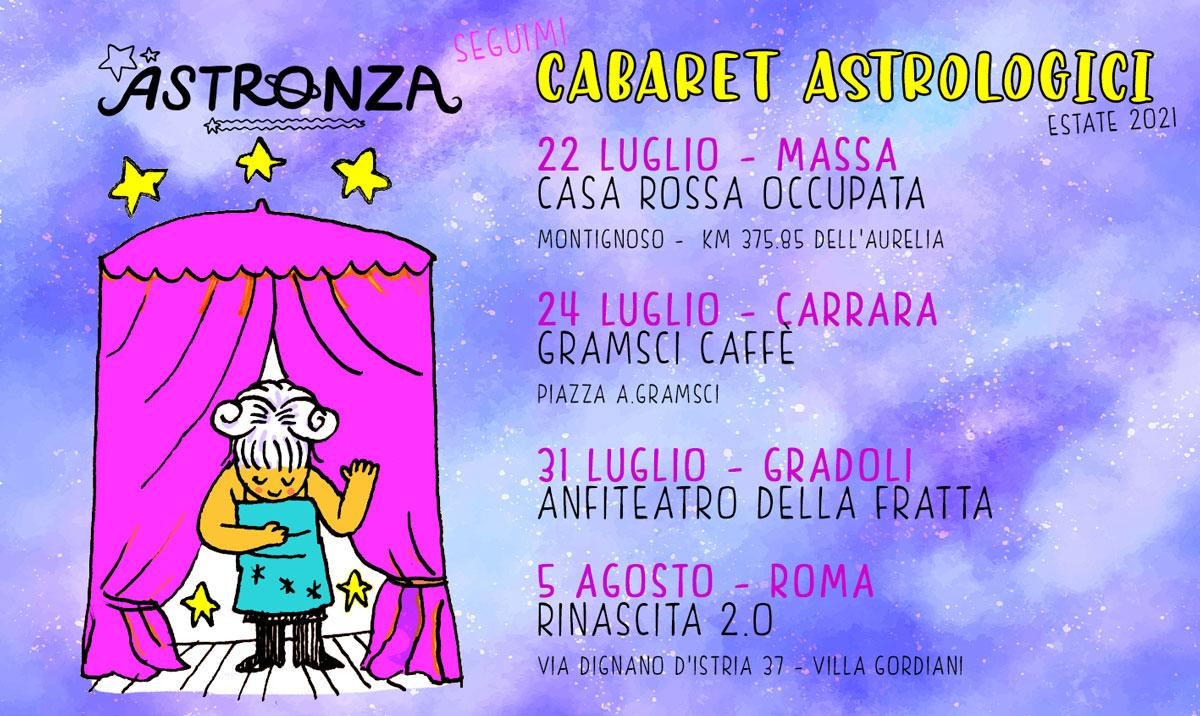tour astronza estate 2021