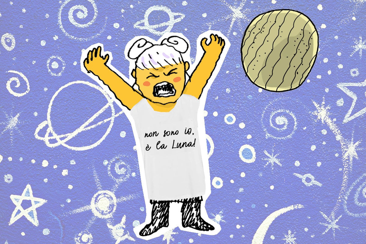 astronza stress Luna Nuova